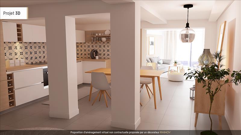 Vente Appartement BREST (29200) - 2 pièces - 95 m² - Quartier Recouvrance - 4 Moulins