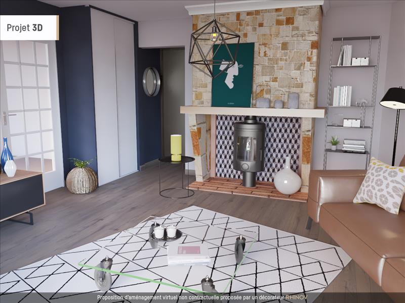 Vente Maison AUBIE ET ESPESSAS (33240) - 4 pièces - 91 m² -