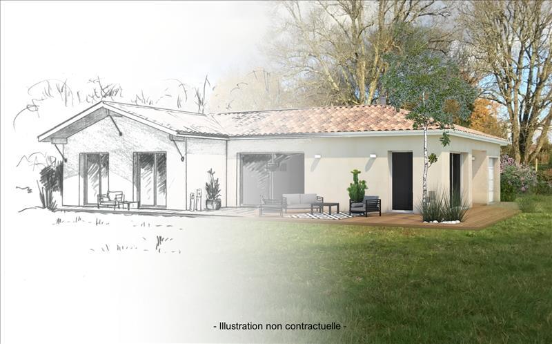 Vente Terrain SALIGNAC (33240) - 1006 m² -