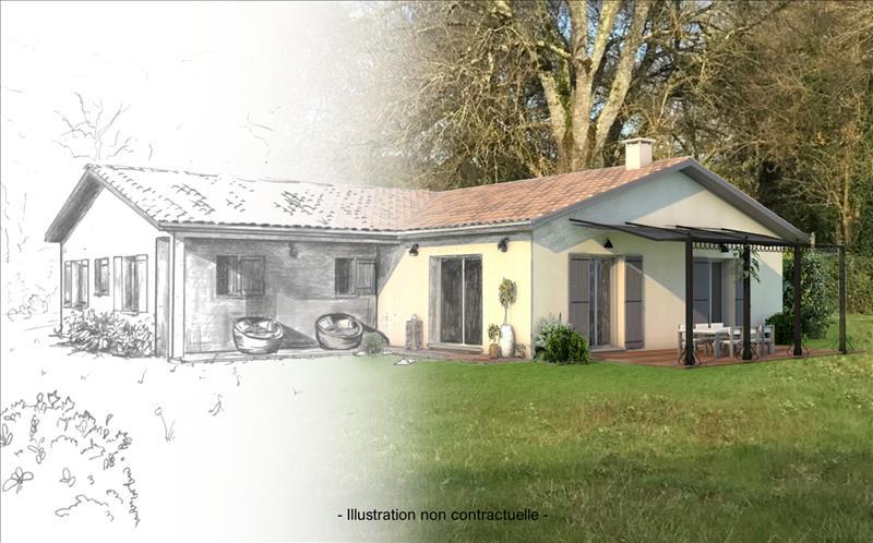 Vente Terrain SALIGNAC (33240) - 892 m² -