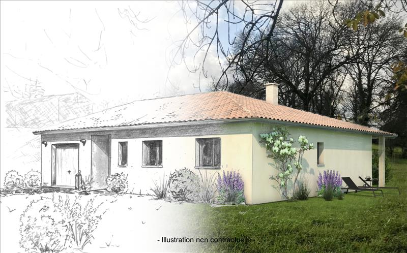 Vente Terrain SALIGNAC (33240) - 893 m² -