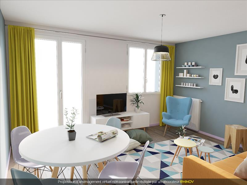 Vente Appartement BREST (29200) - 4 pièces - 70 m² - Quartier Europe