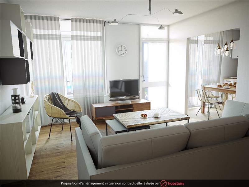 Vente Appartement BREST (29200) - 3 pièces - 58 m² - Quartier Saint-Marc