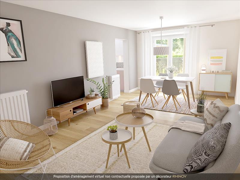 Vente Maison BREST (29200) - 3 pièces - 66 m² - Quartier Bellevue