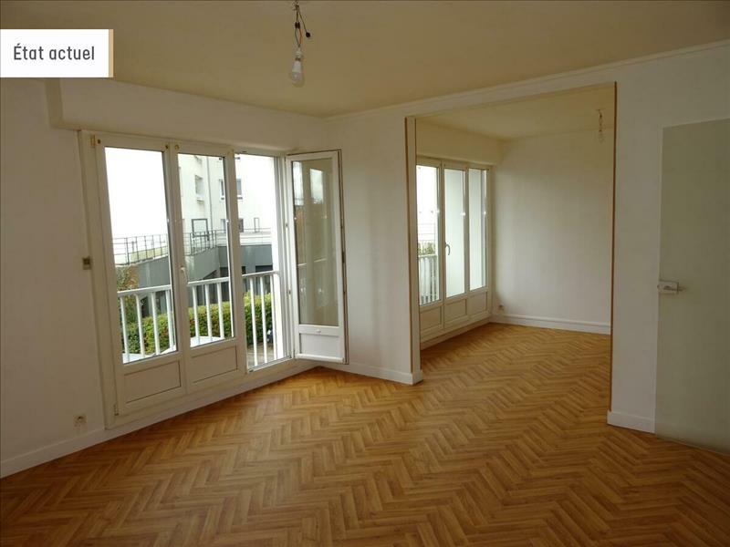 Vente Appartement BREST (29200) - 4 pièces - 74 m² - Quartier Brest|Europe
