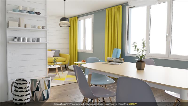 Vente Appartement QUIMPER (29000) - 3 pièces - 66 m² - Quartier Kerfeunteun - Cuzon