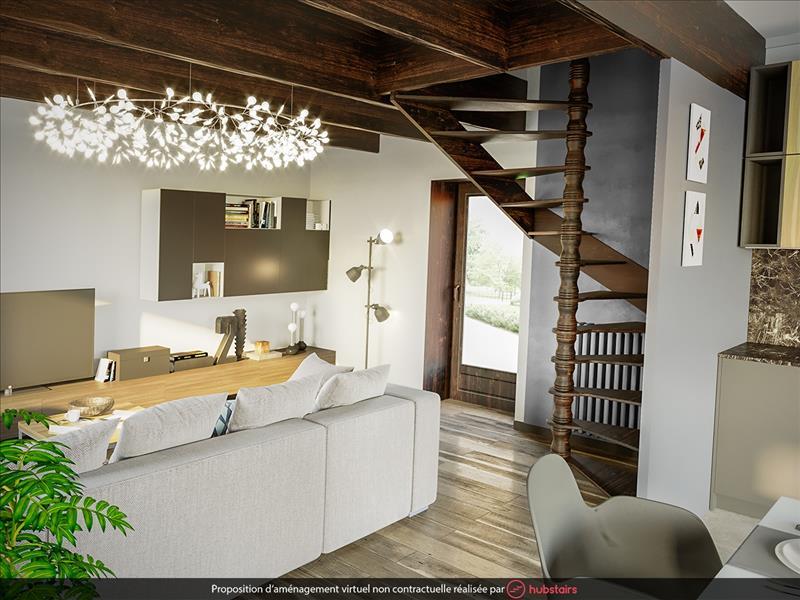 Vente Maison PLOUNEVEZ LOCHRIST (29430) - 3 pièces - 66 m² -