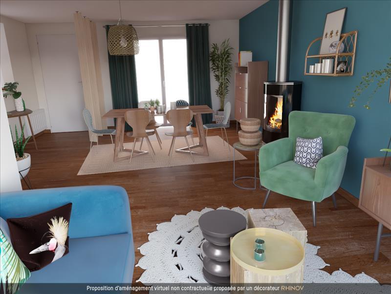 Vente Maison ST SATURNIN DU BOIS (17700) - 5 pièces - 80 m² -