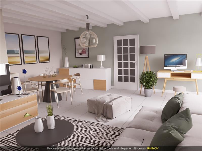 Vente Maison VOUHE (17700) - 5 pièces - 113 m² -