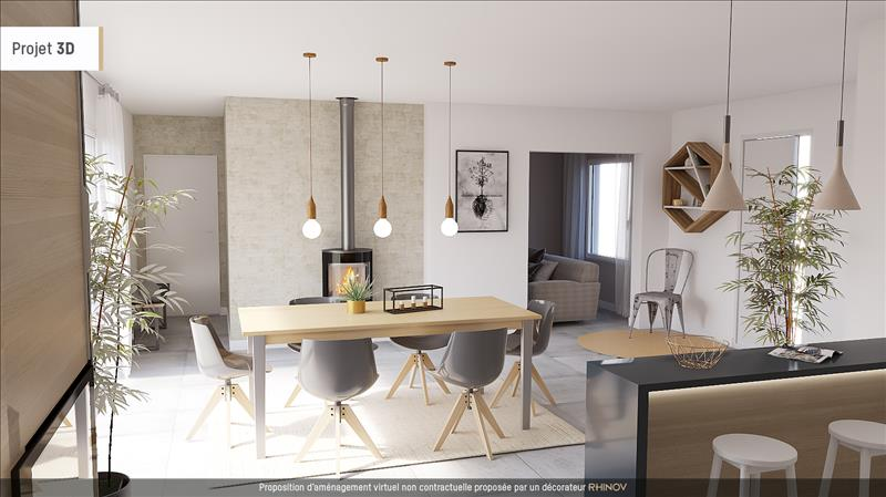 Vente Maison GENOUILLE (17430) - 7 pièces - 161 m² -