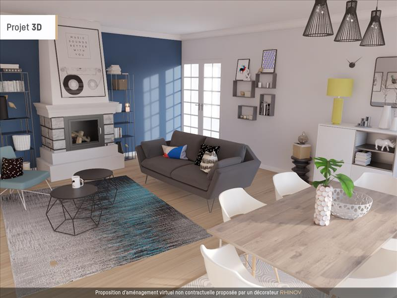 vente maison st cyr la roche 19130 5 pi ces 150 m 225 2168 bourse de l 39 immobilier. Black Bedroom Furniture Sets. Home Design Ideas