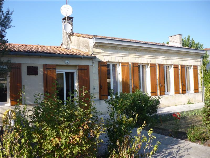 Maison CUSSAC FORT MEDOC - 6 pièces  -   165 m²