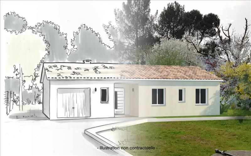 Vente Terrain AVENSAN (33480) - 800 m² -