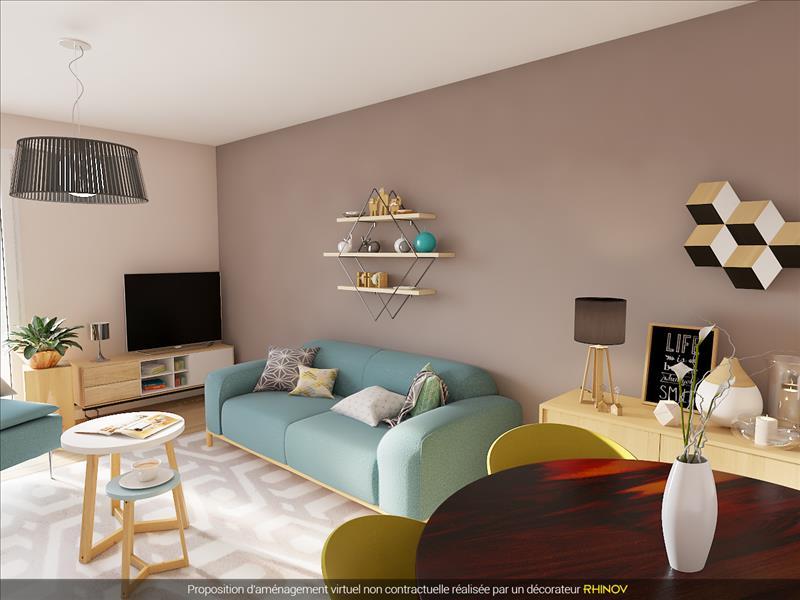 Vente Appartement JOUE LES TOURS (37300) - 3 pièces - 65 m² - Quartier Centre-ville - Les Moriers - Beaulieu - La Marbelière