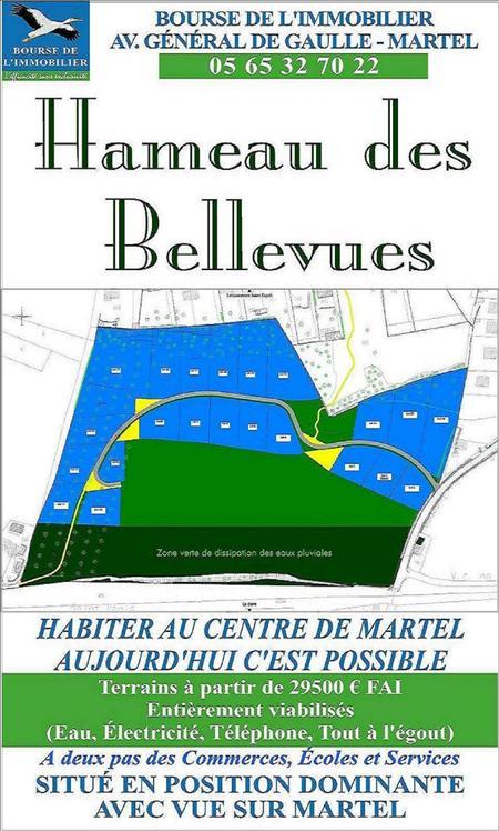 Terrain MARTEL -  - 2430 m²