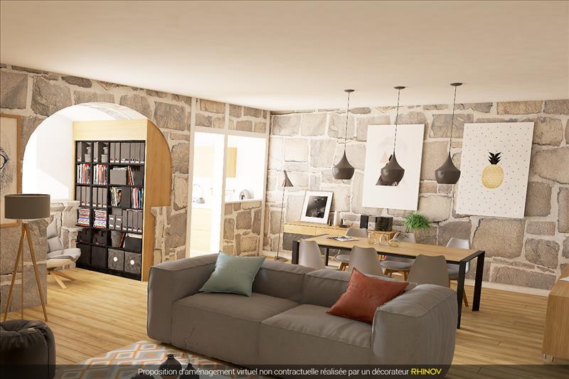 Vente Maison MOLIERES (46120) - 3 pièces - 78 m² -
