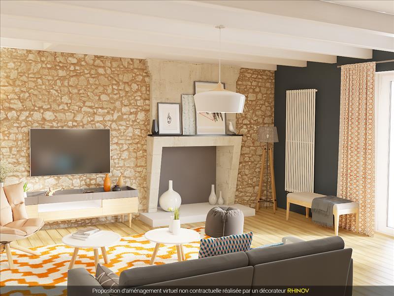 Vente Maison LA FOYE MONJAULT (79360) - 6 pièces - 189 m² -