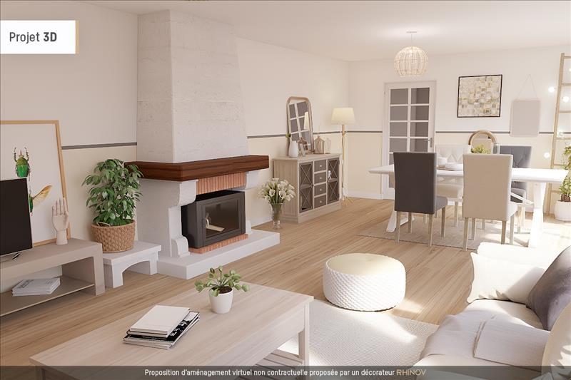 Vente Maison MAUZE SUR LE MIGNON (79210) - 4 pièces - 120 m² -