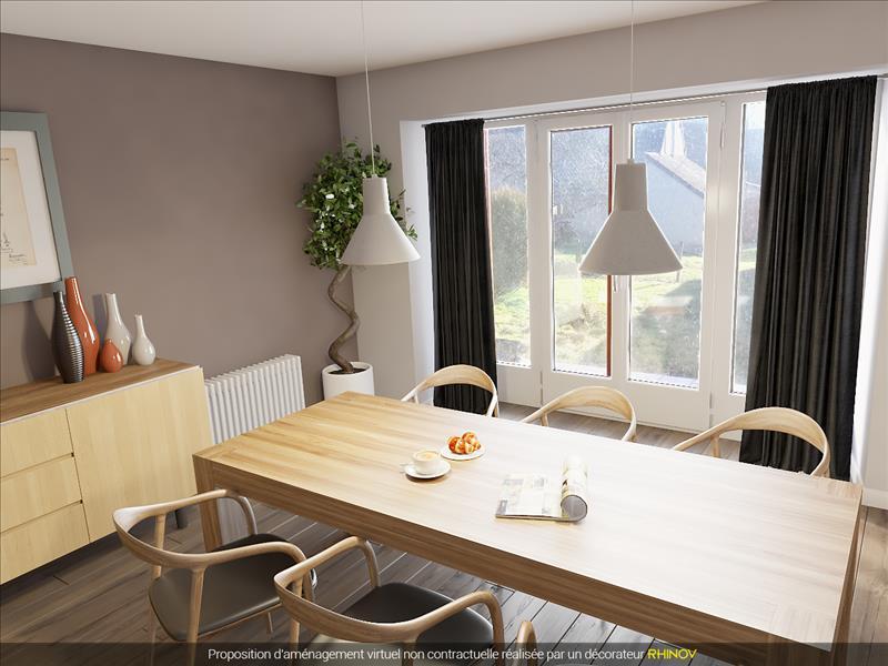 Vente Maison CHENIERS (23220) - 6 pièces - 118 m² -