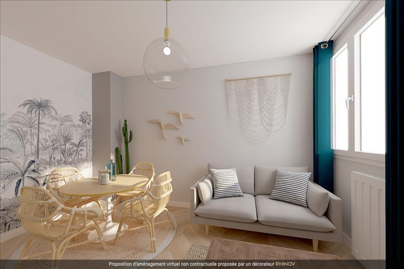 Vente Appartement LA ROCHELLE (17000) - 2 pièces - 36 m² - Quartier La Rochelle |La Genette - Jericho - Fetilly - La Trompette