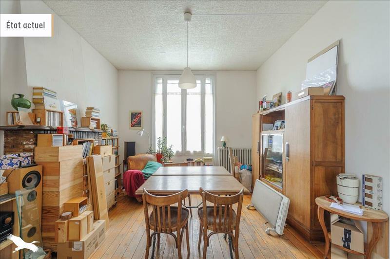 Vente Maison LA ROCHELLE (17000) - 3 pièces - 110 m² - Quartier La Rochelle |La Genette - Jericho - Fetilly - La Trompette