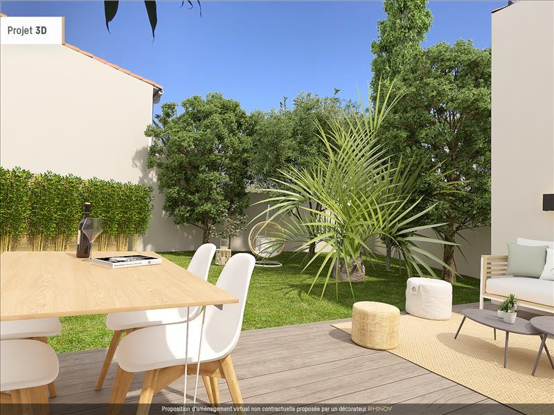 Vente Maison LA ROCHELLE (17000) - 4 pièces - 90 m² - Quartier La Rochelle |La Genette - Jericho - Fetilly - La Trompette