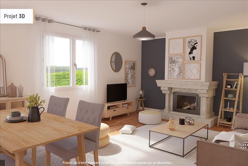 Vente Maison ESCORNEBOEUF (32200) - 4 pièces - 116 m² -