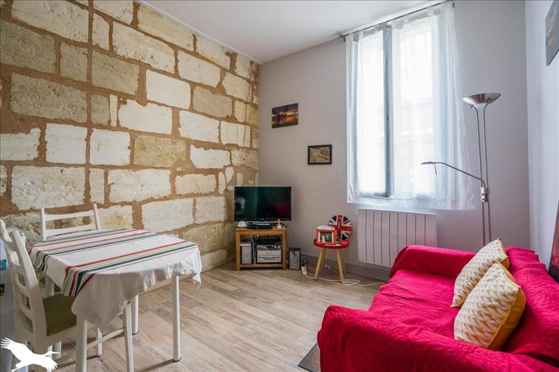 Vente Appartement BORDEAUX (33000) - 2 pièces - 29 m² - Quartier Judaique - Ornano - Meriadeck
