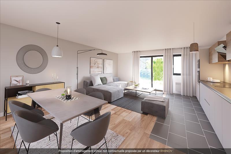 Vente Appartement BORDEAUX (33000) - 2 pièces - 47 m² - Quartier Judaique - Ornano - Meriadeck