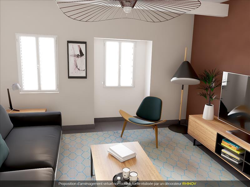 Vente Appartement BEAUMONT DE LOMAGNE (82500) - 1 pièce - 43,96 m² -