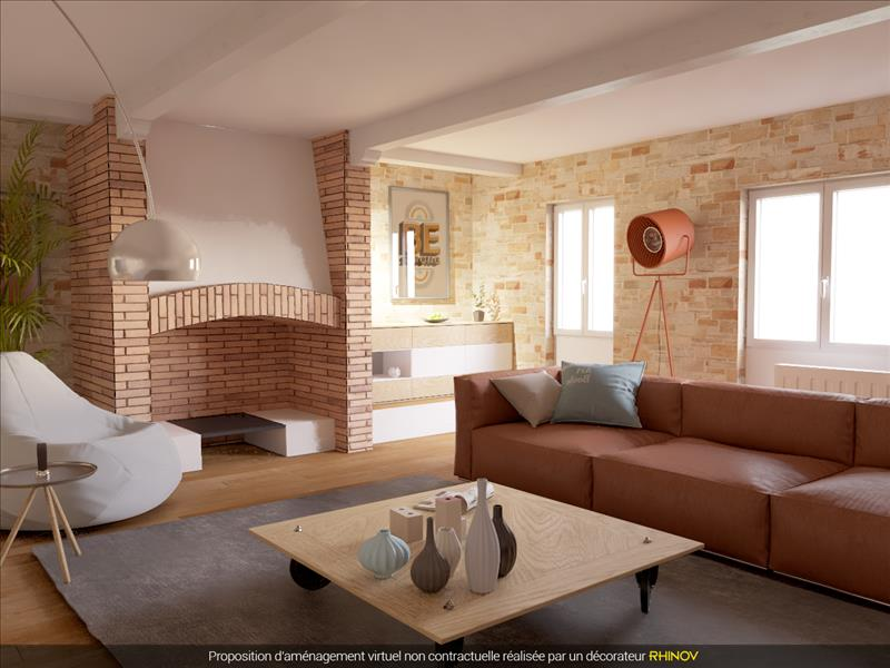Vente Immeuble BEAUMONT DE LOMAGNE (82500) - 15 pièces - 480 m² -