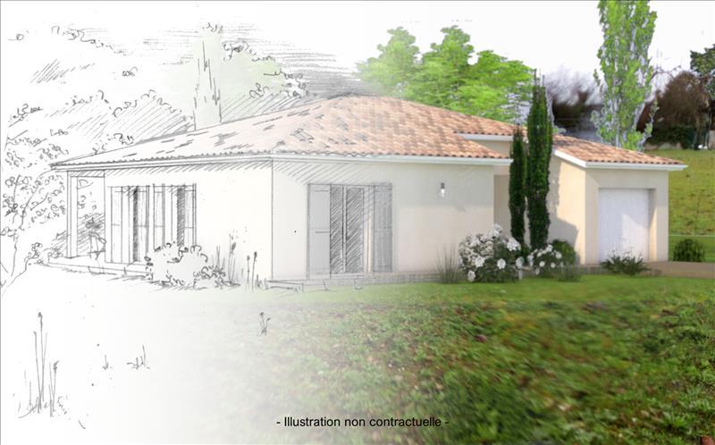 Vente Terrain BEAUMONT DE LOMAGNE (82500) - 1240 m² -