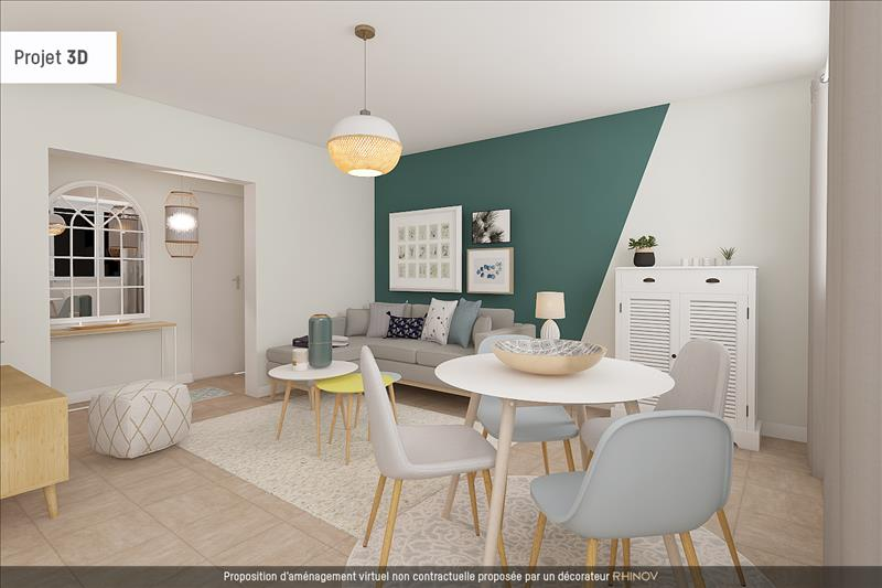 Vente Appartement BEYNES (78650) - 4 pièces - 72 m² -