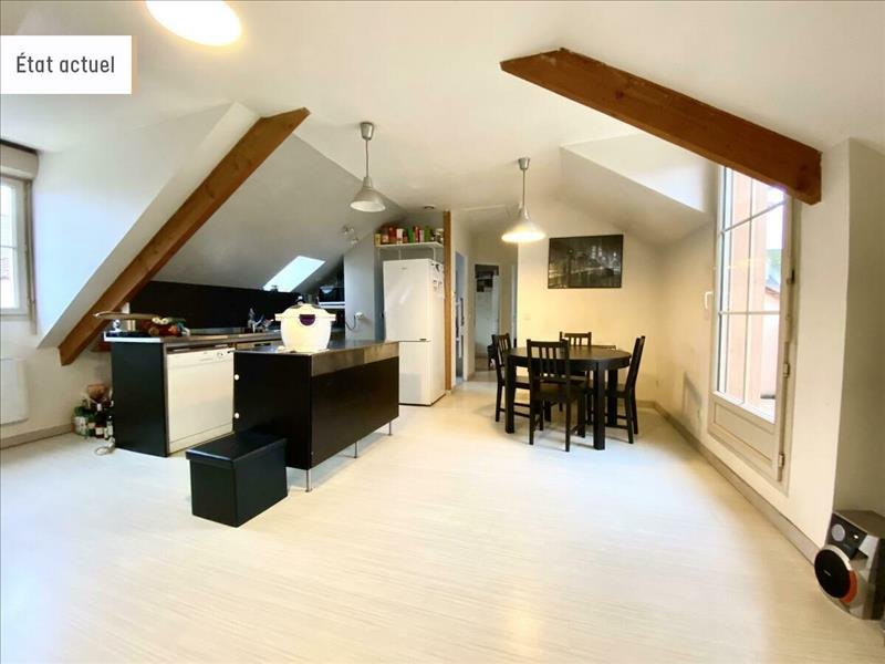 Vente Appartement BEYNES (78650) - 3 pièces - 49 m² -