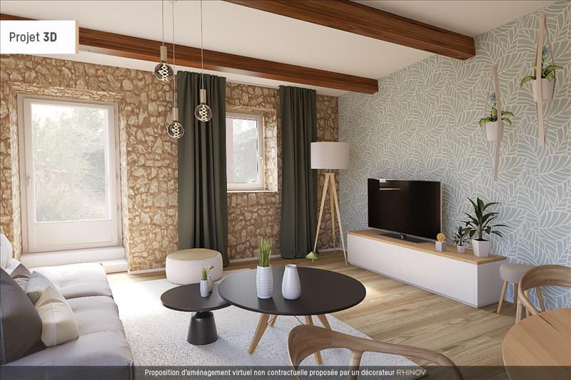 Vente Maison THIVERVAL GRIGNON (78850) - 4 pièces - 80 m² -