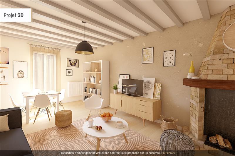 Vente Maison MARCQ (78770) - 3 pièces - 86 m² -