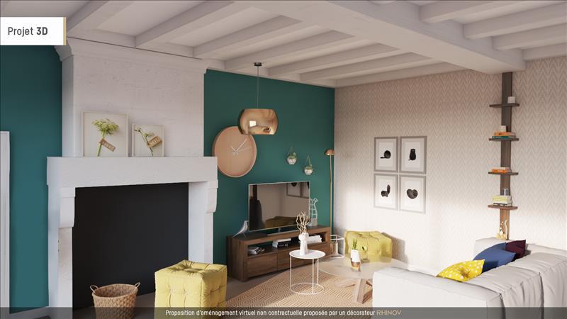Vente Maison ST MARTIAL SUR NE (17520) - 4 pièces - 105 m² -