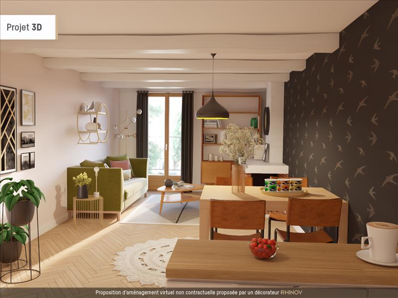 Vente Maison POPIAN (34230) - 3 pièces - 80 m² -