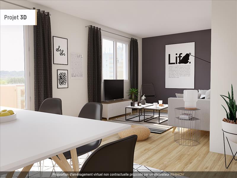 Vente Appartement POISSY (78300) - 3 pièces - 62 m² - Quartier St Barthélémy - Béthemont - Bidonnière - Coudraie