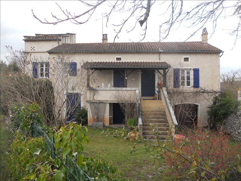 Maison CONCOTS - 6 pièces  -   100 m²