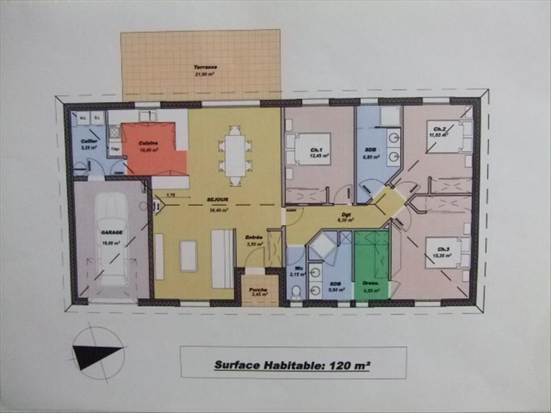 Maison FLAUJAC POUJOLS - 4 pièces  -   120 m²