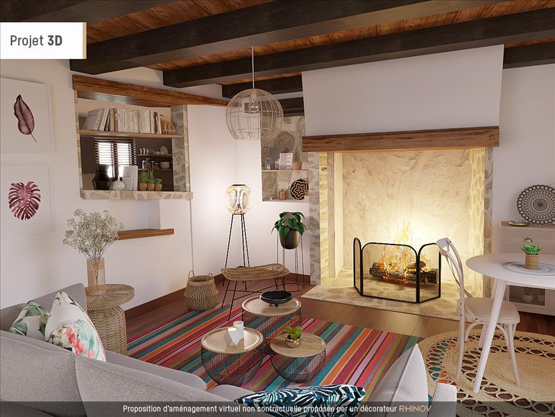 Vente Maison LIMOGNE EN QUERCY (46260) - 4 pièces - 98 m² -