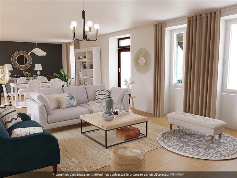 Vente Maison LIMOGNE EN QUERCY (46260) - 8 pièces - 229 m² -