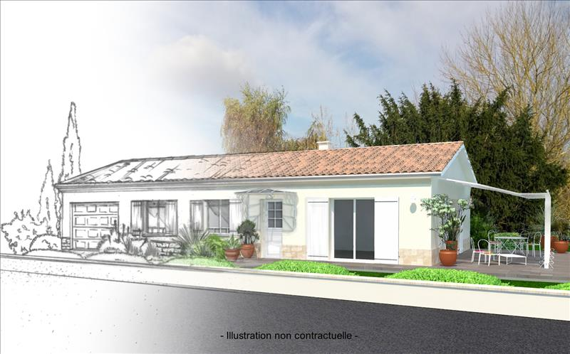 Vente Terrain ST SEURIN DE CADOURNE (33180) - 870 m² -
