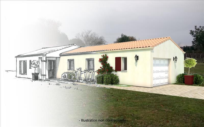 Vente Terrain ST SAUVEUR (33250) - 1800 m² -