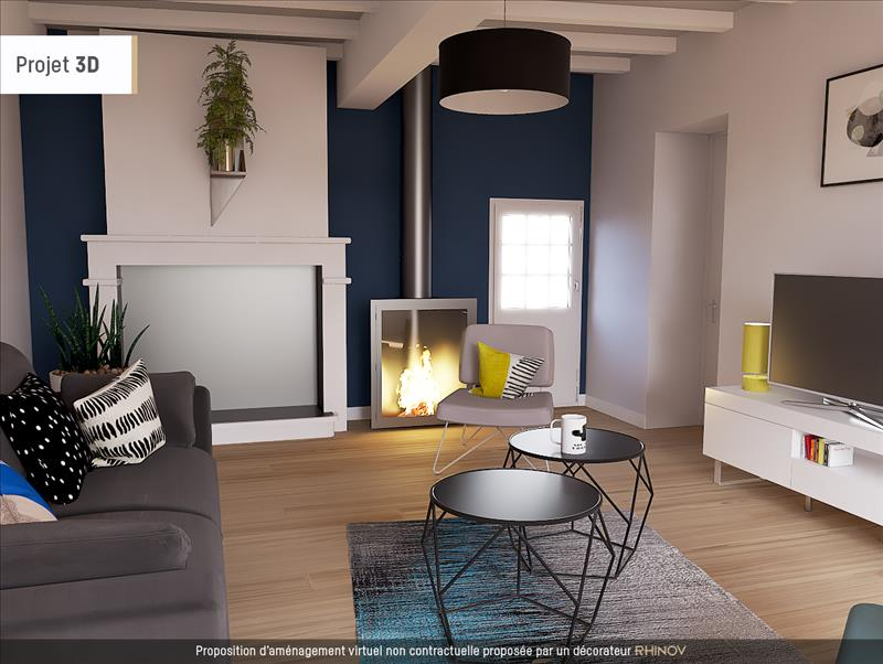 Vente Maison ST ESTEPHE (33180) - 3 pièces - 91 m² -