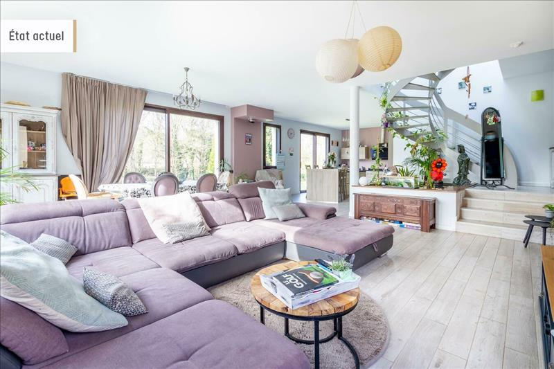 Vente Maison AUFFREVILLE BRASSEUIL (78930) - 8 pièces - 240 m² -
