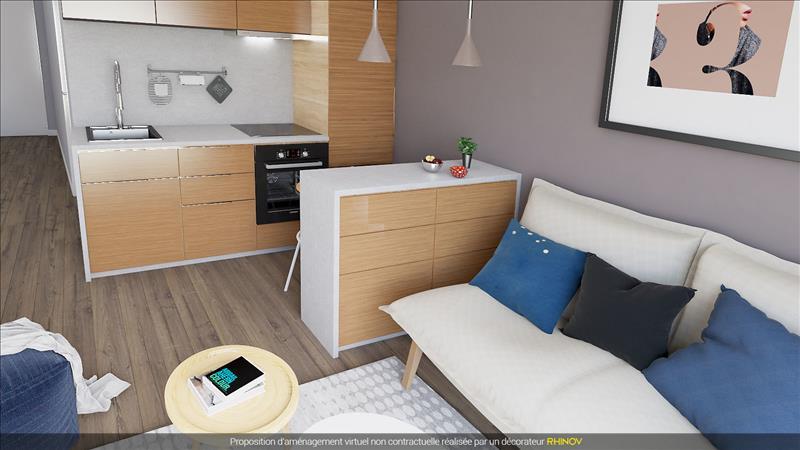 Vente appartement frontignan 34110 2 pi ces 26 m 271 for Simulation appartement 3d