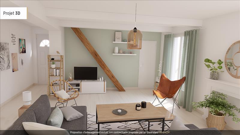 Vente Maison CADOURS (31480) - 5 pièces - 90 m² -