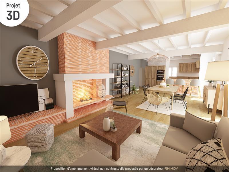 Vente Maison CADOURS (31480) - 4 pièces - 114 m² -